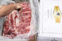 Gần 170 tấn thịt trâu đông lạnh sẽ được bán cho các tổ chức, cá nhân có đủ điều kiện tái xuất hàng hóa ra khỏi Việt Nam